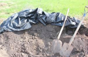 Пенсионерка пыталась зарубить штыковой лопатой соседа