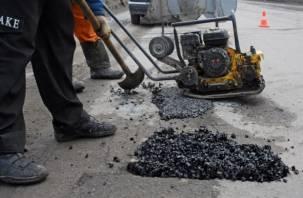 В Смоленской области отремонтировали опасную дорогу только под давлением судебных приставов