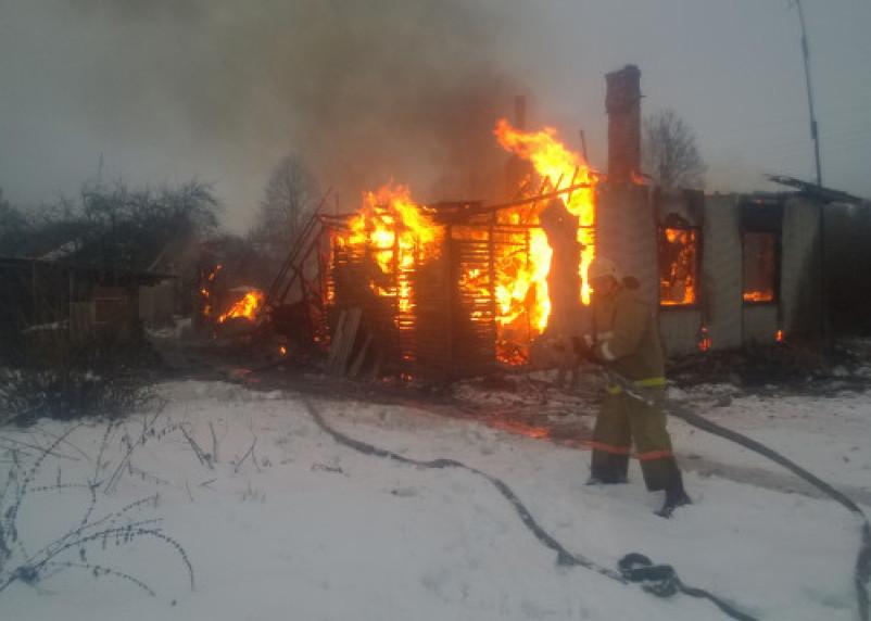 В Смоленской области в огне погиб мужчина
