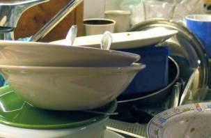 У жителя Смоленска из дома исчезла вся посуда