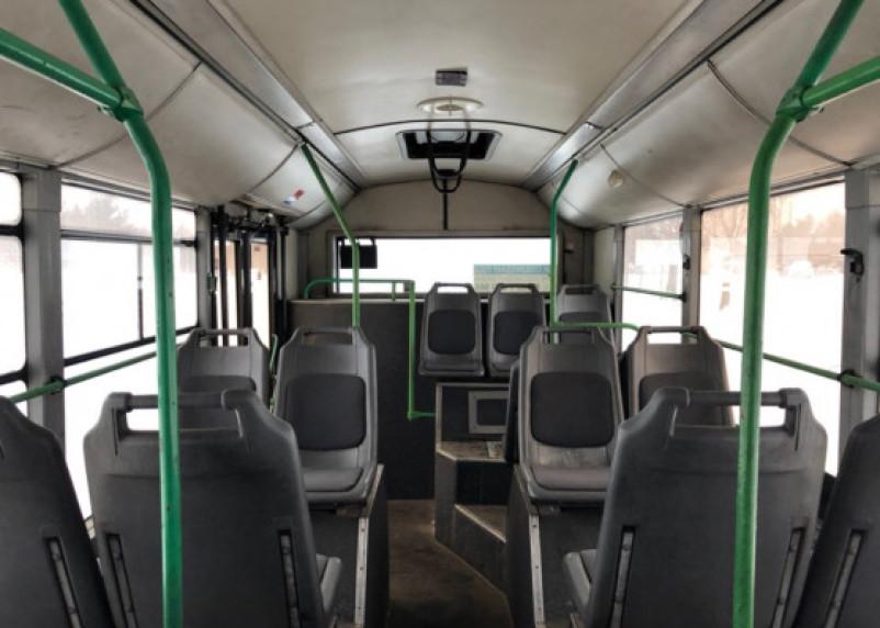 Молодой человек угнал автобус с парковки в Гагаринском районе