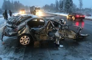 Подробности трагического ДТП с двумя погибшими и двумя пострадавшими в Смоленской области