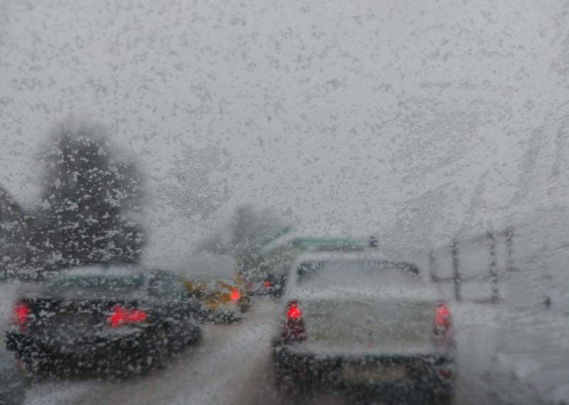 В воскресенье смолян ждёт туман и гололедица на дорогах