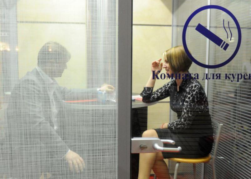 В российском аэропорту заработали курилки