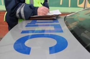 В Смоленске автоинспекторы поймали водителя «под кайфом»