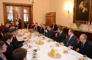Кино и немцы: в резиденции Посла Германии говорили о сотрудничестве со Смоленщиной