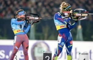 Смоленские биатлонистки хорошо выступили на Всероссийских соревнованиях