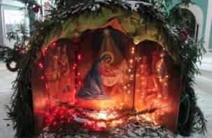 Смоляне отмечают Рождество Христово
