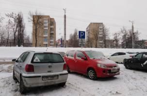 В Смоленске наказали автохамов за парковку на местах для инвалидов