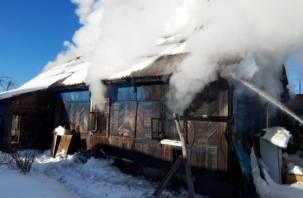Пожар в Рославле: мужчина погиб в собственном доме