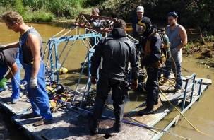 Водолазы и сапёры ЗВО готовы к работе на Смоленщине