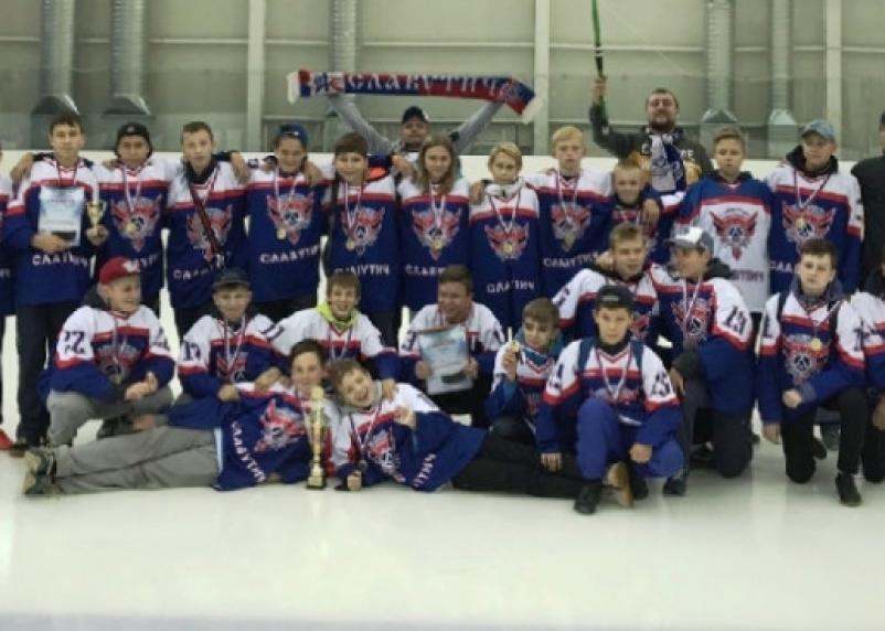 Смоленские юные хоккеисты хорошо выступили на турнире в Беларуси