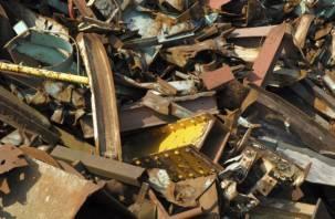 600 кг лома черных металлов пытались незаконно ввезти на Смоленщину