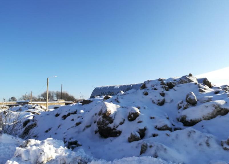 «Смоленскавтодор» губит озеро в поселке Тихвинка?