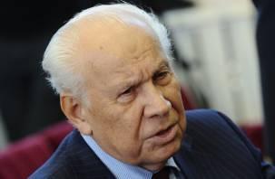 Ушёл из жизни известный смолянин, последний председатель Верховного Совета СССР
