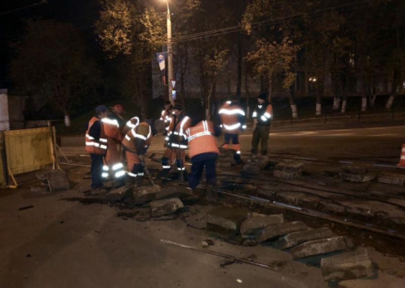 Из-за ремонта в Смоленске закроют перекресток для движения
