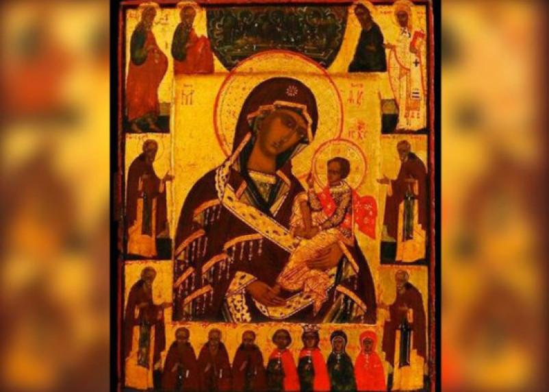 Из столичного музея исчезла икона «Богоматерь Смоленская Шуйская»