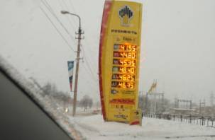 Стабильность. Смоленское УФАС проверило цены на бензин в марте