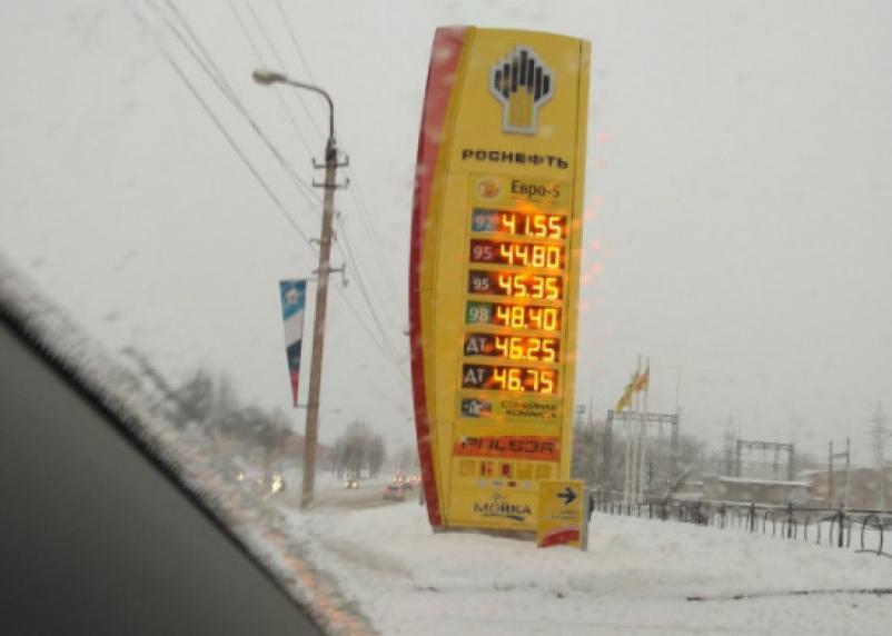 Стабильно недёшево. Смоленское УФАС проверило цены на бензин на АЗС