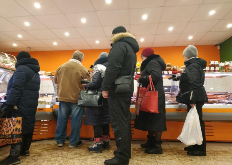 Средний чек в магазинах упал до минимума
