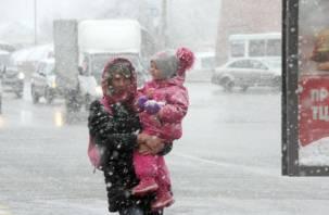 На какие регионы обрушатся снегопады