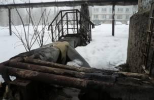 Совсем голые. Активисты проверили теплоизоляцию трубопроводов в Смоленске