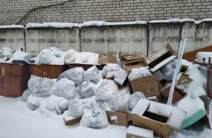 Смоленские коммунальщики развели антисанитарию возле хосписа