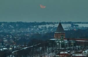 Падение метеорита на «кровавую» Луну сняли на видео