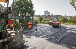 В Смоленске определили дороги для ремонта
