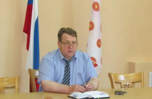 Ушел в отставку. Глава Духовщинского района досрочно сложил свои полномочия