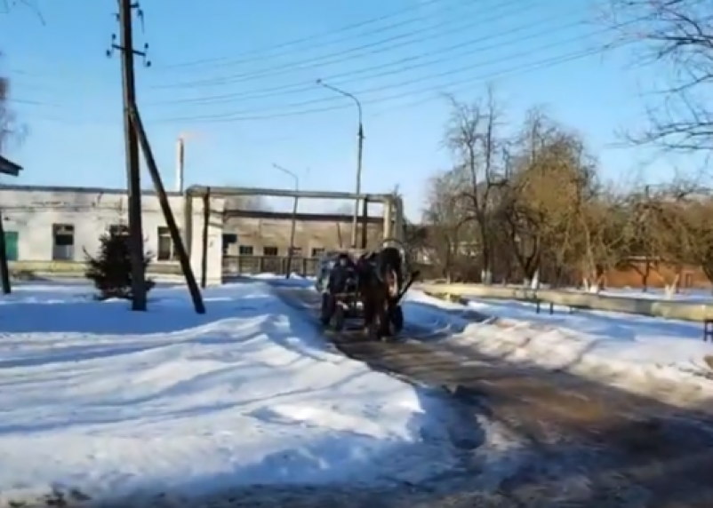 В травматологию или в морг? Появилось видео «дороги выживаемости» на территории рославльской больницы