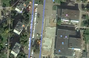 На космоснимке Смоленска появилась белорусская ярмарка