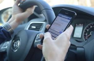 Смоленские водители на втором месте по созданию аварийных ситуаций