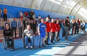 В Смоленске стартовали всероссийские соревнования инвалидов по лёгкой атлетике