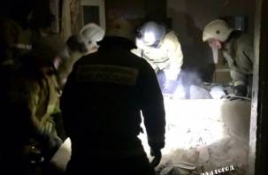 В Смоленской области в двухэтажке взорвался газ. Фото с места происшествия появились в сети