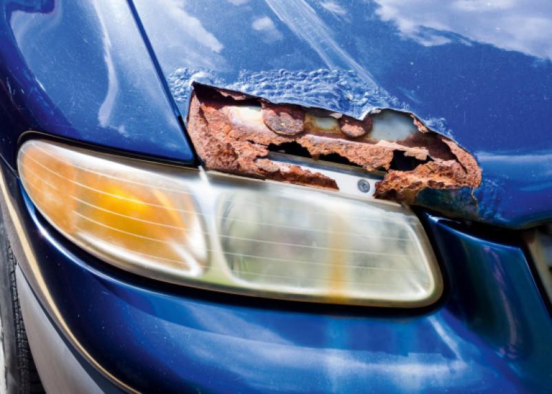 Проблемные места. Назван топ-5 быстро ржавеющих автомобилей