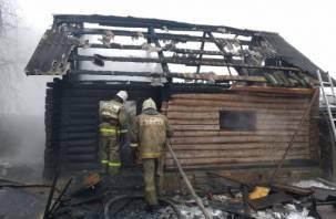 Детские игры привели к пожару в Смоленске