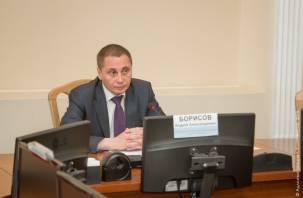 Андрей Борисов подал в отставку и претендует на должность мэра Смоленска
