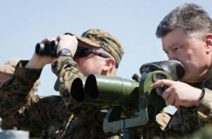 Недалеко от границ Смоленской области. Порошенко описал, как Россия якобы готовится к войне с Украиной