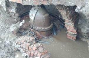 В Смоленске весь Промышленный район остался без воды