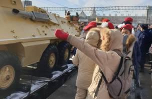 По России отправился поезд «Сирийский перелом»