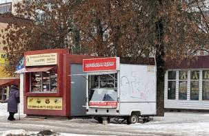 Из Промышленного района Смоленска «исчезли» ларьки