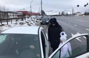 В Смоленской области на трассе М-1 водители видели ангела