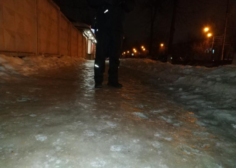 Порывистый ветер и снег. Желтый уровень опасности продлен
