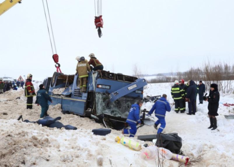 У водителя смертельного автобуса был поддельный техосмотр?