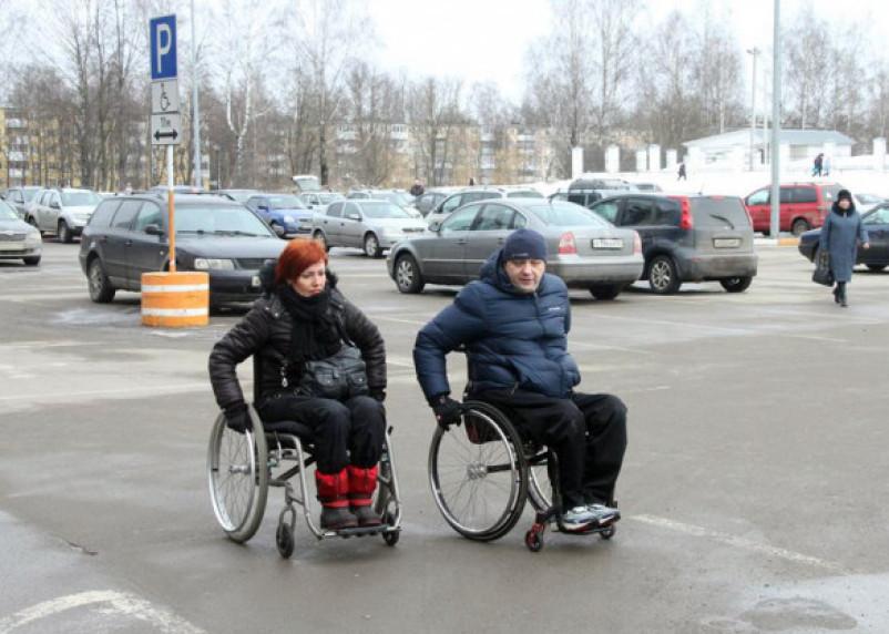 Смоленск запустил флэшмоб #одинденьвколяске