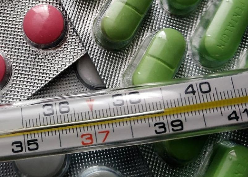 В Смоленске маленькие дети продолжают грипповать. Число заболевших растет