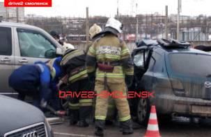 В Смоленске разыскивают свидетелей смертельного ДТП на Витебском шоссе