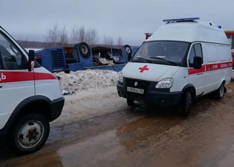 В Ярцевском районе ввели режим ЧС после ДТП под Калугой