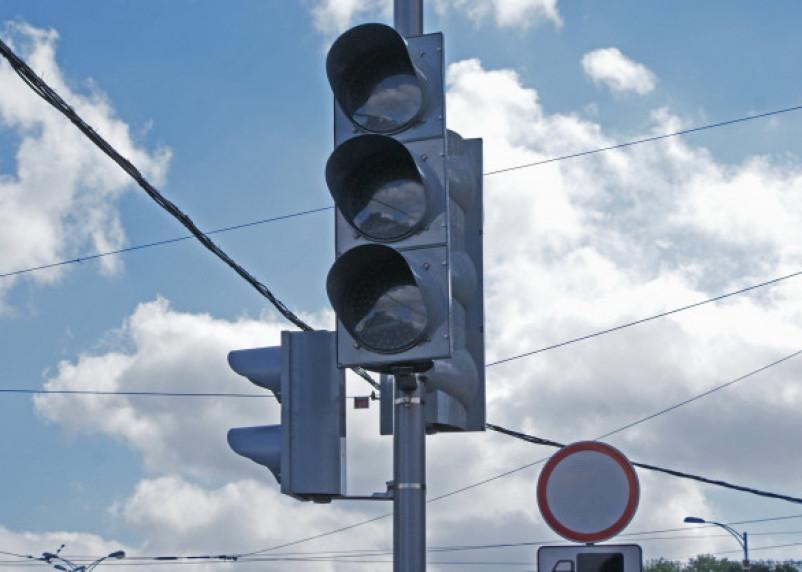 Смоляне сообщают о неработающих светофорах в Заднепровье